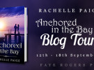 Blog Tour Schedule: Anchored in the Bay by Rachelle Paige
